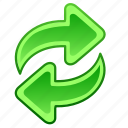 arrow, arrows, refresh, update icon