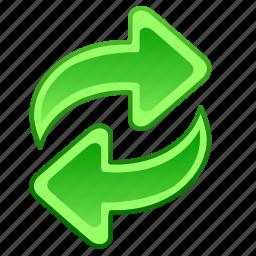 arrow, arrows, refresh, update icon