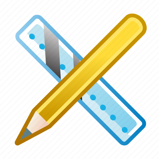 design, graphic, pencil, rule, settings, tools, write icon