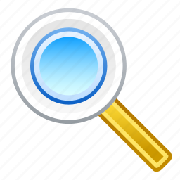 explore, find, magnifier, research, search, view, zoom icon