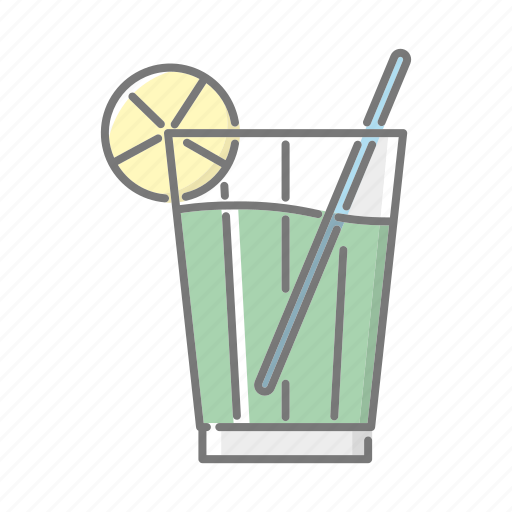 beach, cocktail, drink, refreshment, seaside, travel, vacations icon