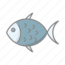 animal, beach, fish, seafood, seaside, travel, vacations icon