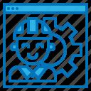 development, engineering, software, support, website icon