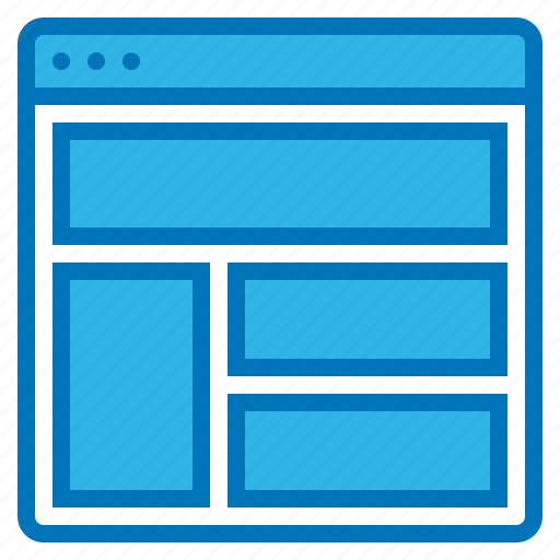 development, layout, page, software, website icon