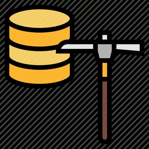 data, development, integration, mining, software icon