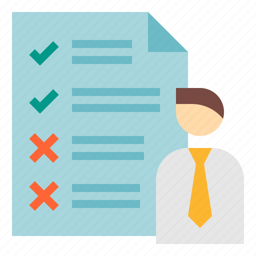 business, development, list, requirement, software icon