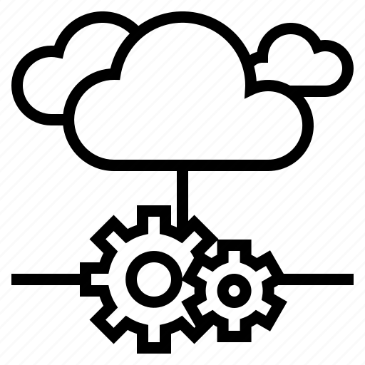 cloud, development, server, service, software icon