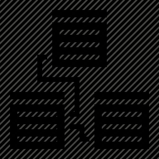 database, design, development, software, structure icon