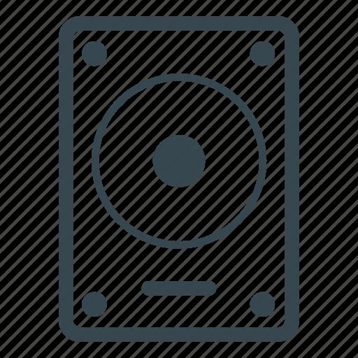 data, harddisk, storage icon