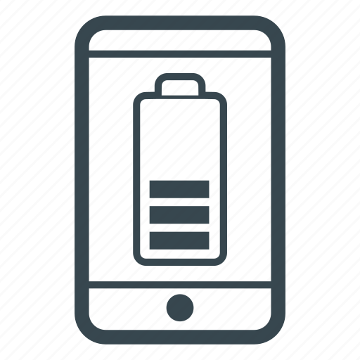 battery, low battery, phone, software icon