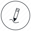 edit, pen, pencil, tool icon