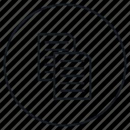 content, copy, duplicate icon