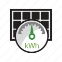 energy, kwh, module, panels, power, solar icon