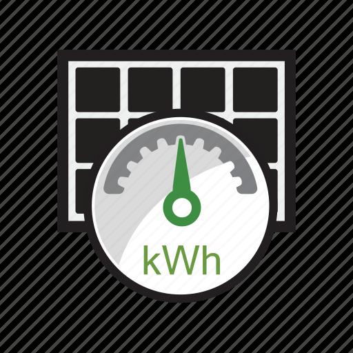 energy, kwh, module, panels, power, solar icon