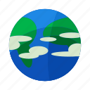 earth, minimal, planet, solar, space, start, system icon