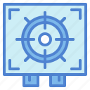 shooting, sniper, target, weapons icon