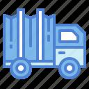 automobile, cargo, truck, vehicle