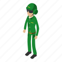 army, camouflage, isometric, military, object, pilot, soldier
