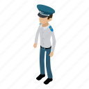 army, camouflage, isometric, male, military, object, officer