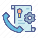 aftersales, assistance, customer, post, sale, service, support icon