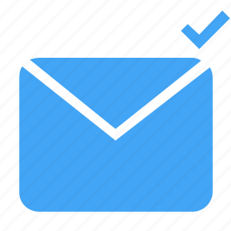 check, document, email, extension, letter, mail, message icon