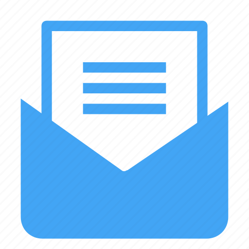 communication, document, email, envelope, letter, mail, message icon