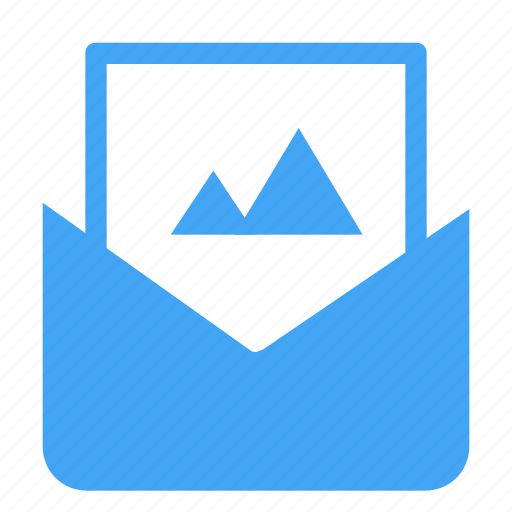 email, image, letter, mail, message, photo icon