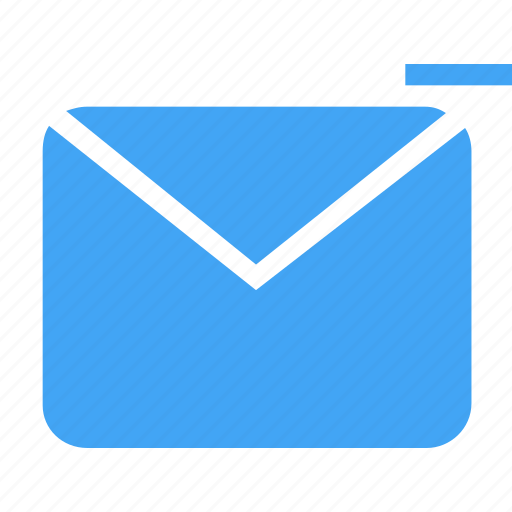 communication, email, envelope, letter, mail, message, remove icon