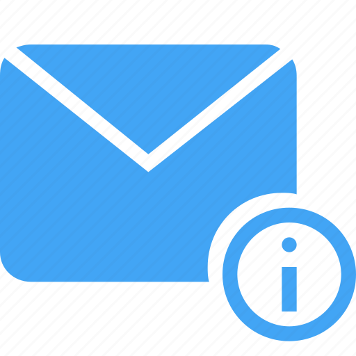 email, inbox, information, letter, mail, message, update icon