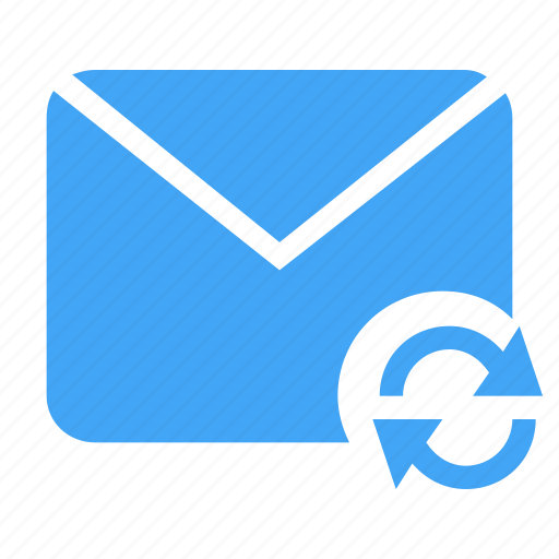 Email, letter, mail, message, refresh, sync, update icon - Download on Iconfinder