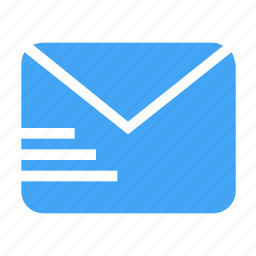 conversation, email, letter, mail, message, send, talk icon