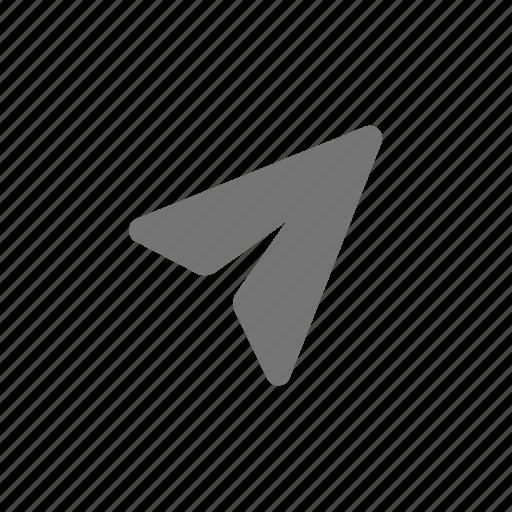 paper plane, plane, send icon