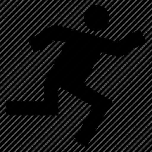 activity, athlete, marathon, run, speed, spint, sport icon