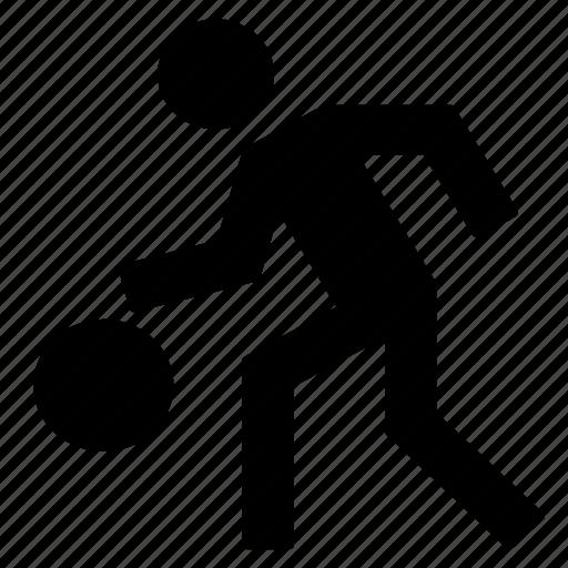 activity, athlete, basket, health, people, sport icon