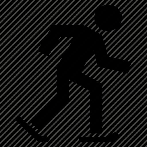 activity, athlete, ice skating, people, skating, sport icon