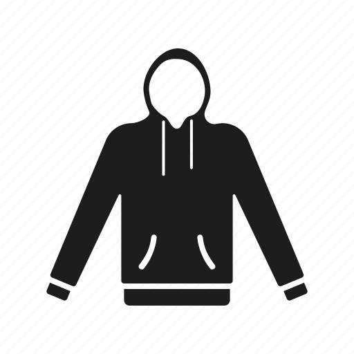 clothes, clothing, fashion, garment, hoodie, sweater, sweatshirt icon