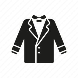 clothing, fashion, garment, jacket, mens wear, suit, wardrobe icon