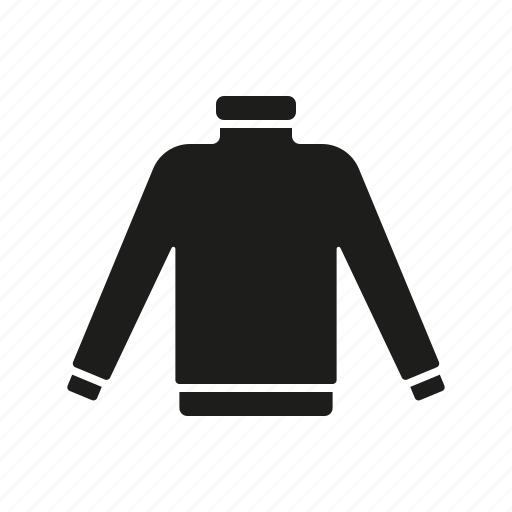 clothes, clothing, fashion, garment, pullover, sweater, turtleneck icon