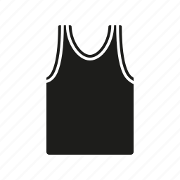 clothes, clothing, fashion, garment, shirt, sportswear, tank top icon