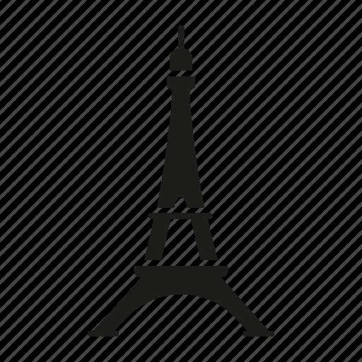building, eiffel tower, france, landmark, paris, tourism, travel icon