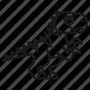 animal, dino, dinosaur, jurassic, predator, rex, wild icon