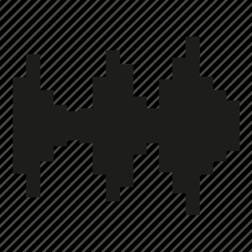 audio, controll, level, music, sound, volume icon