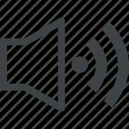 art, audio, media, music, sound, volume icon