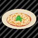 asian, bar, isometric, logo, object, plate, soup