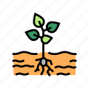 agricultural, field, growing, harvesting, plant, processing icon