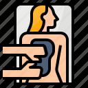 bath, mud, spa, treatment icon