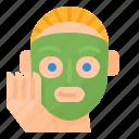 face, facial, masks, spa icon