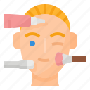 face, skin, spa, treatment icon