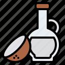 aroma, coconut, massage, oil, spa