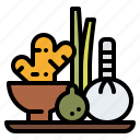 ball, herb, massage, spa